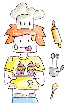 Timmy's Tales Baking